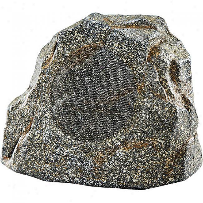 Nxg Pro Series 2-way Weather-resistant Rock Speaker System - 120-watt, 8-inch - Granite