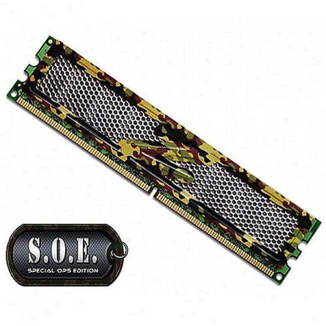 Ocz 4gb Kit (2x2gb) Ddr2 800mhz Dual Channel Special Ops Editiondesktop Memory