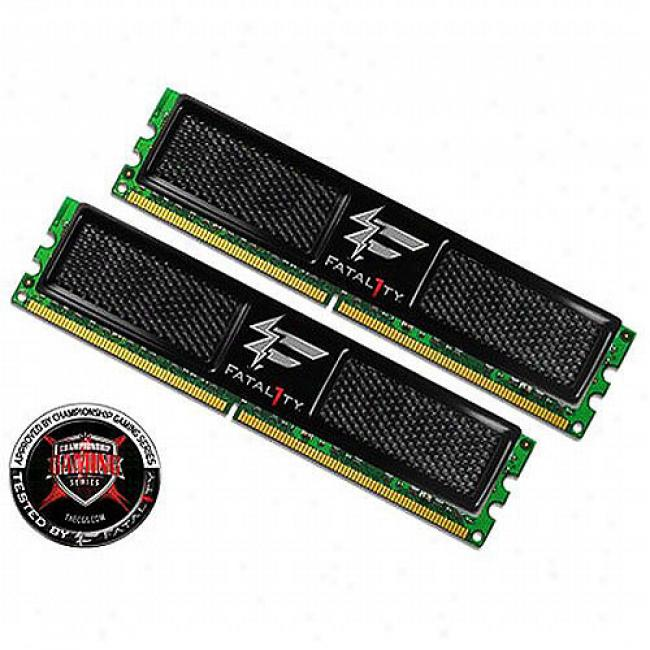 Ocz Pc2-6400 Ddr2 Fatal1ty Edition 4gb Desktop Memory Kit