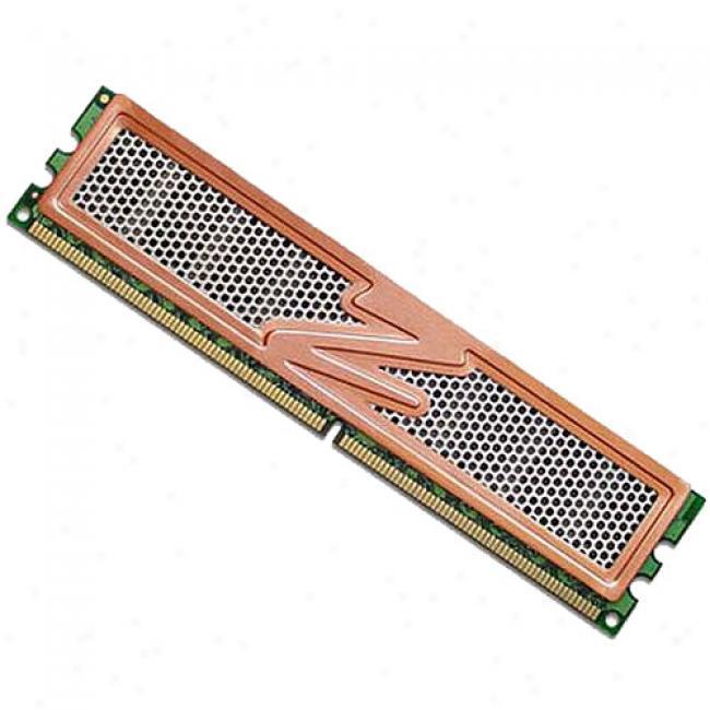Ocz Pc2-6400 Ddr2 Vista Upgrade 800mhz 1g Module With Heatspreader