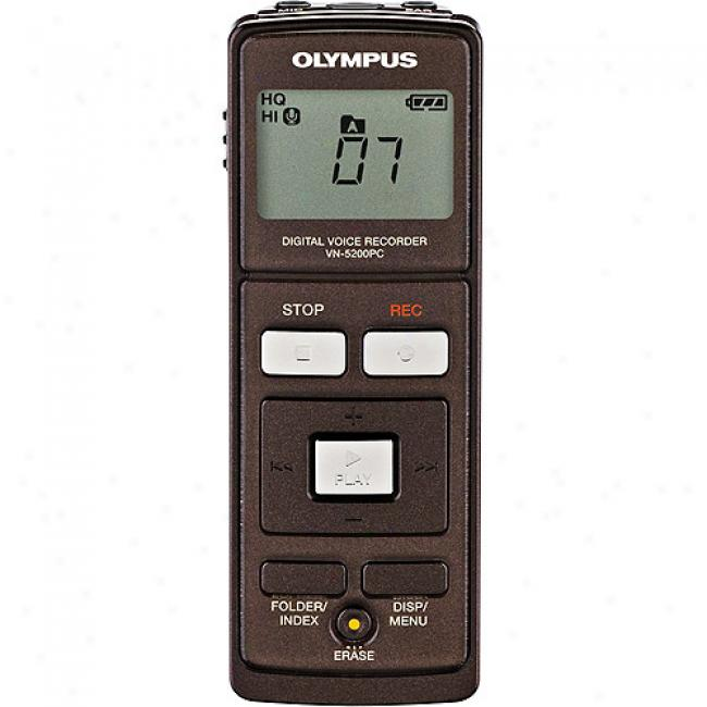 Olympus 512mb Pc Digital Voice Recorder With Usb 2.0 Storage