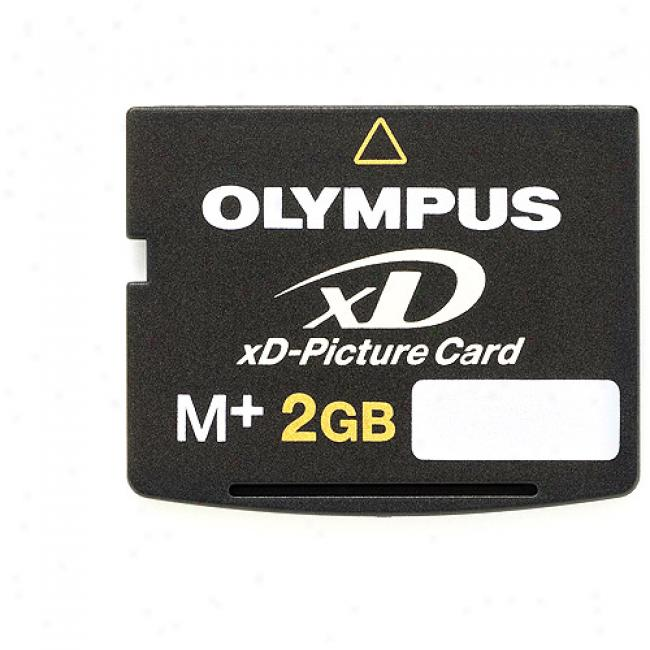 Olympus M+2gb Xd Picture Card