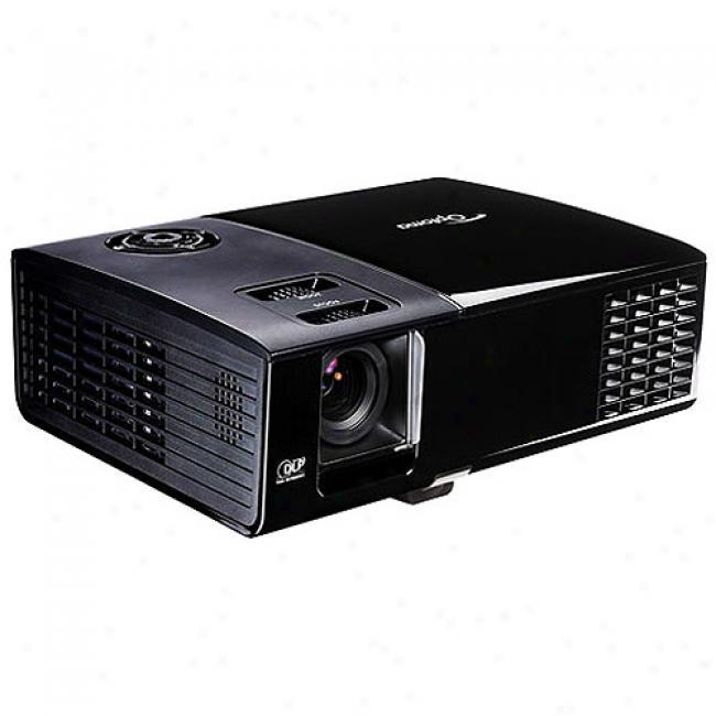 Optoma Technoiogy Ep761 Dlp Multimedia Projector Xga (1024 X 768) 3200 Ansi Lumens