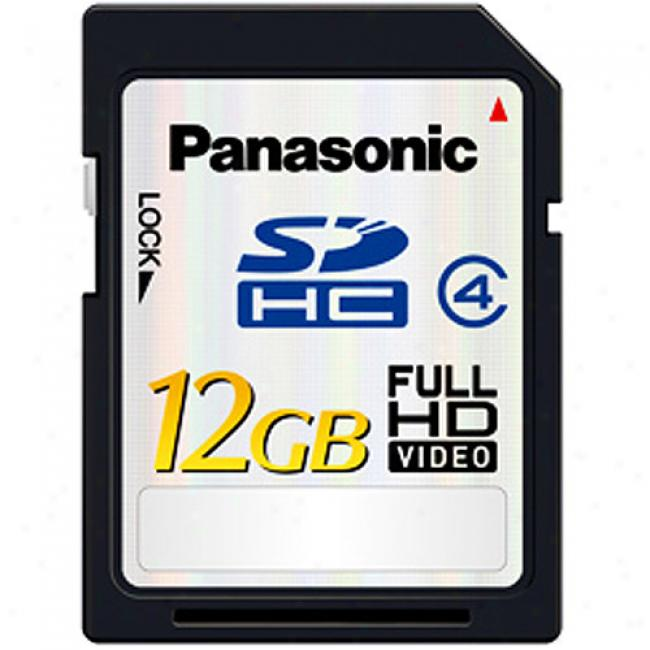 Panasonic 12gb Sdhc Memory Card Arrange 4