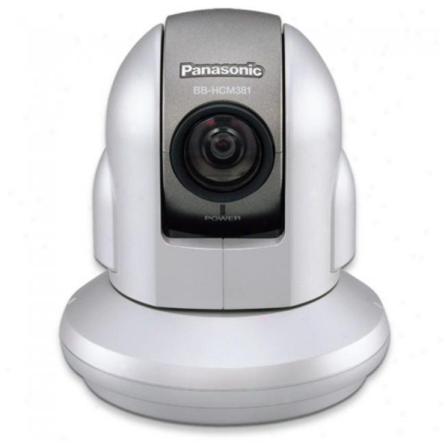 Panasonic Bb-hcm381a Network Camera With Remote 350-degree Pan And 220-degree Tilg