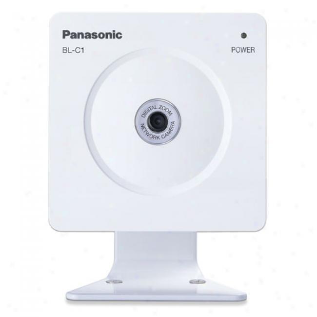 Panasonic Bl-c1a Network Cmaera W/ 10x Digital Zoom, Bl-c1a
