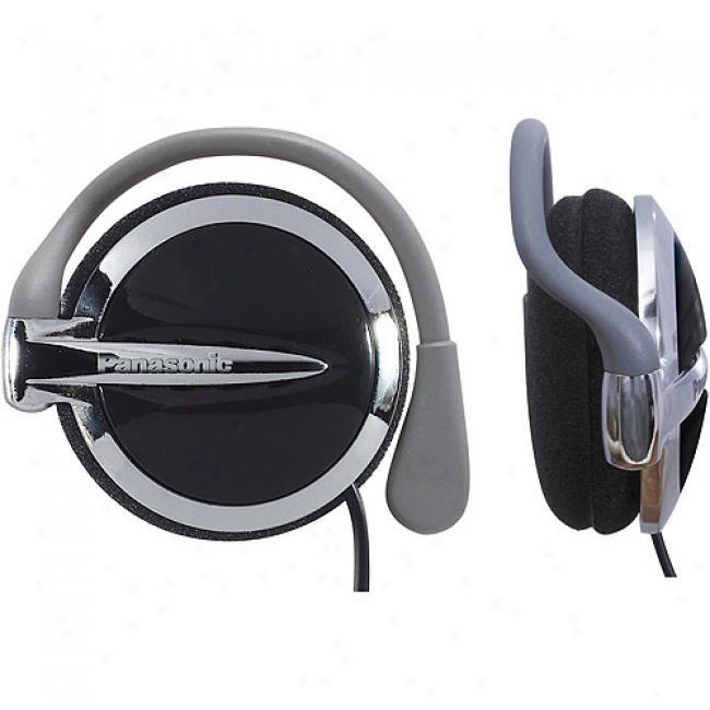 Panasonic Clip-on Headphones, Rp-hs43-k