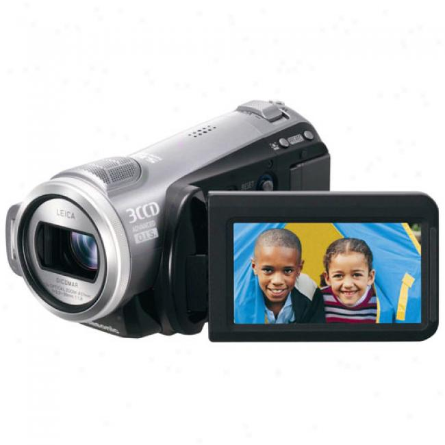 Panasonic Hdc-sd9 High Definition Flash Digital Camcorder W/ 3 Ccds