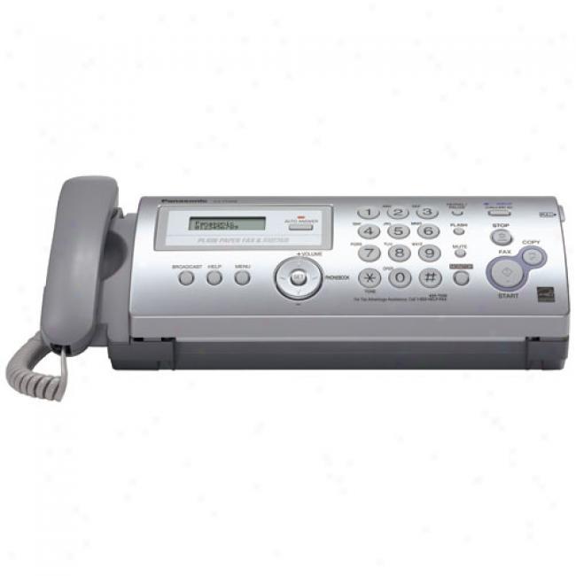 Panasonic Kx Fp205 Plain News~ Fax And Copy Machine