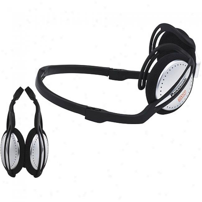 Panasonic Shockwave Water-resistant Neckband Headphones, Rp-hg30