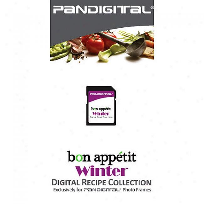 Pandigital Sd Card W/ Bon Appetit Cookbook Recipes