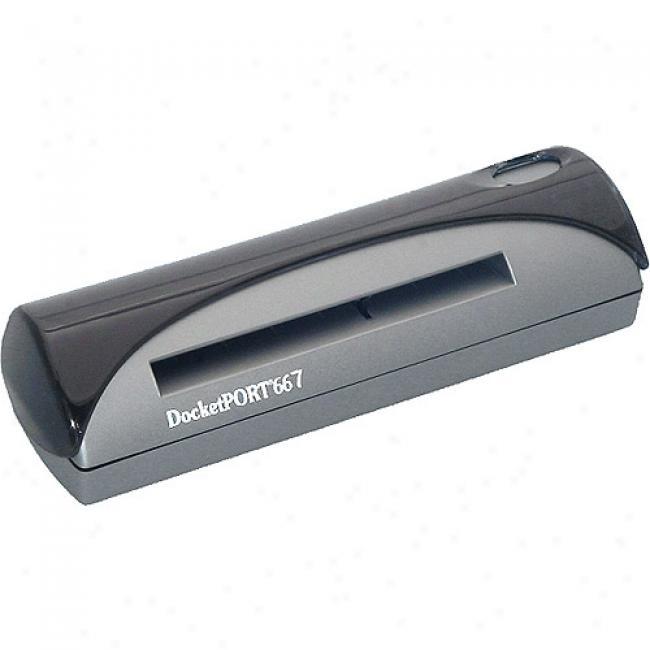 Penpower Dp667 Id & Business Card Scanner