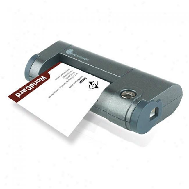 Penpower Worldcard Office Business Card Scanner