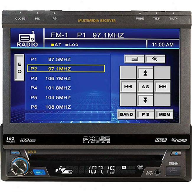 Appearance Linear Uv9 160-watt Multi-media Receiver With 7