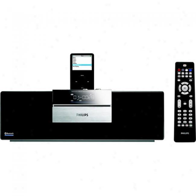 Philips Bluetooth Micro Hi-fi System With Ipod Dock