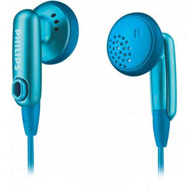 Philips Color Match Earbuds, Blue