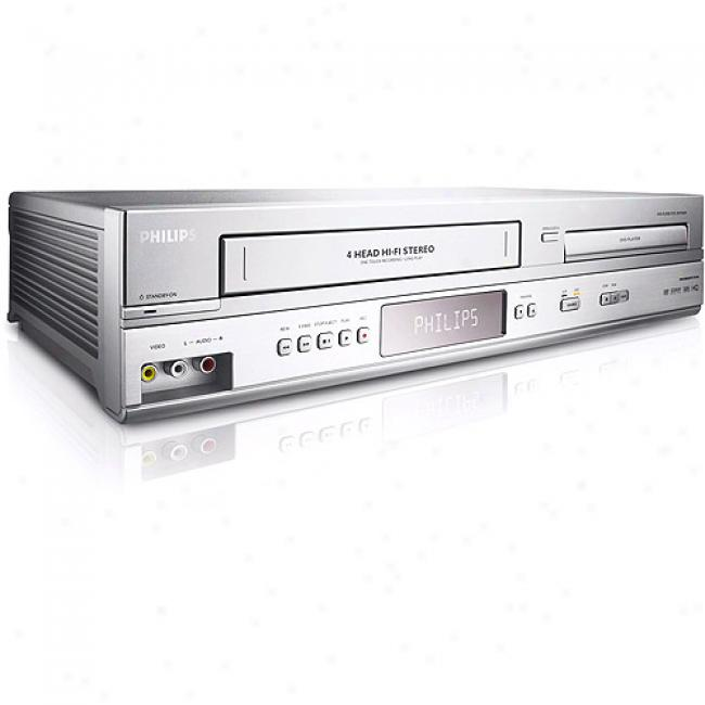 Philips Combo Dvd Player/vcr Combo, Dvp3345v/17