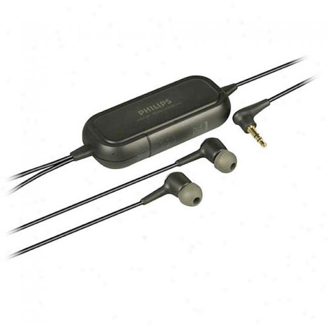 Philips Earbud Noise-cancel Headphones, Shn2509