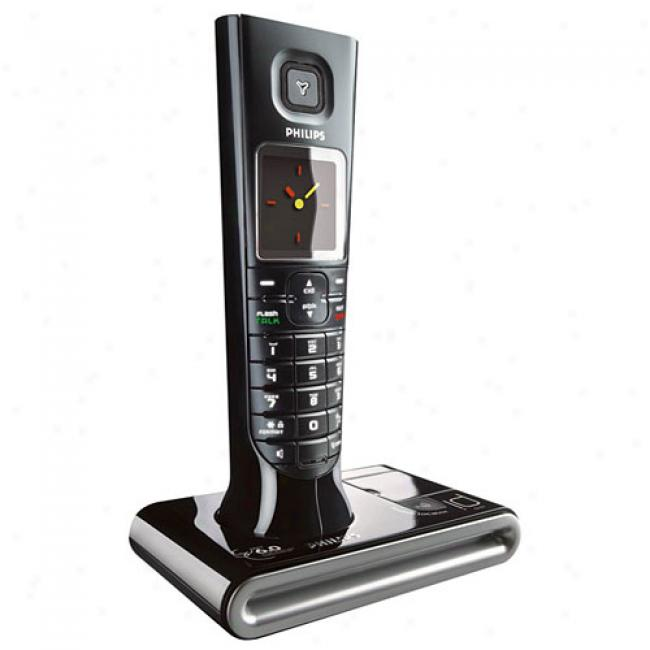 Philips Expandable Id9 Series Cordless Telephone With Called Id And Answering Machine