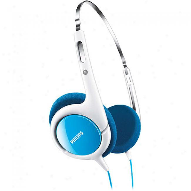 Philips Headband Headphones For Kids - Blue, Shk1030/27