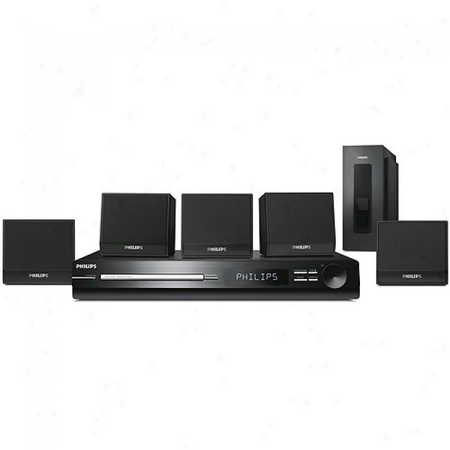 Philips Home Theater Audio System W/ Dvd Player, Hts3011/37