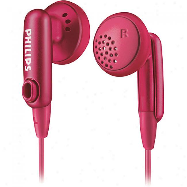 Philips In-ear Color-match Headphones - Brown, She2632/27