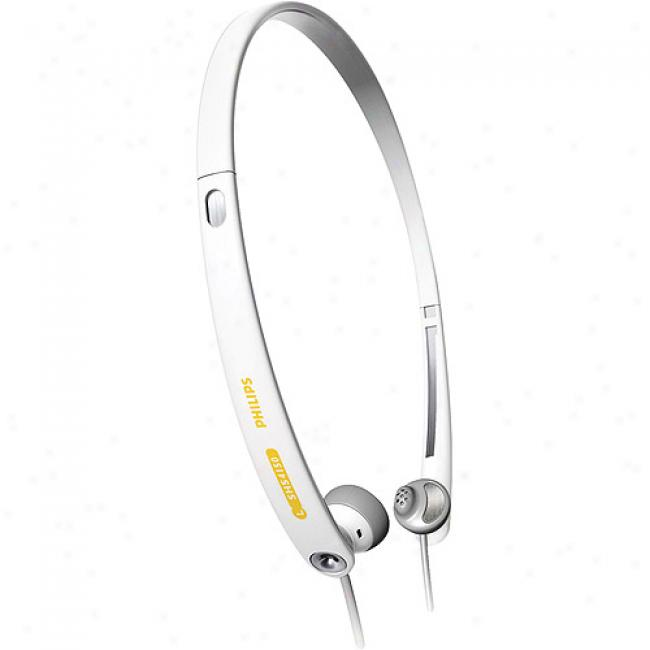 Philips Ipod White Earbud Stereo Headphones