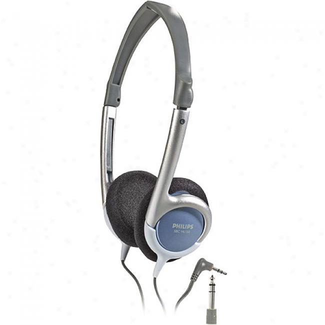 Philips Mid-size Foldable Stereo Headphones