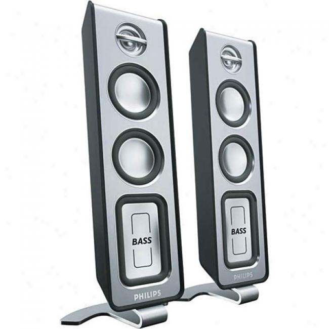 Philips Mms321 Multimedia Speaker System