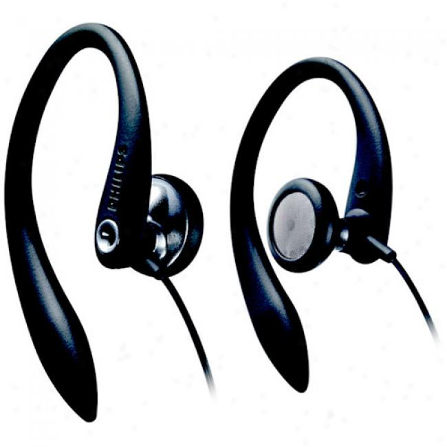 Philips Over-the-ear Earhook Headphones, Shs3200/37