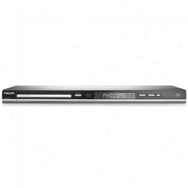 Philips Progressive Scan Dvd Player With Divx Ultra ,Dvp5140/37