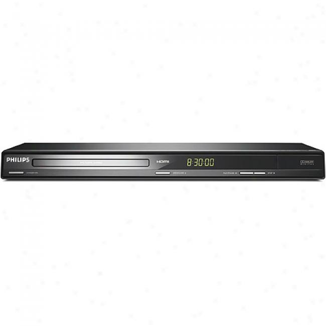 Philips Progressive Scan Dvd Player W/ 1080p Upconversion, Dvp3982/37