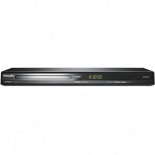 Philips Progressive Scan Dvd Player W/ 1080i Upconversoin, Dvp3962/37