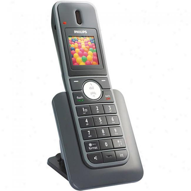 PhilipsS e7450b Expansion Handset With Color Lcd