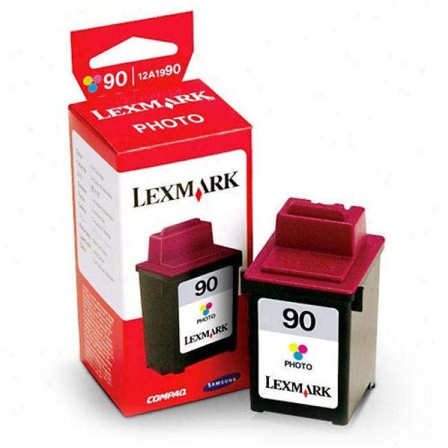 Photo Ink Cartridge #90 For Lexmark
