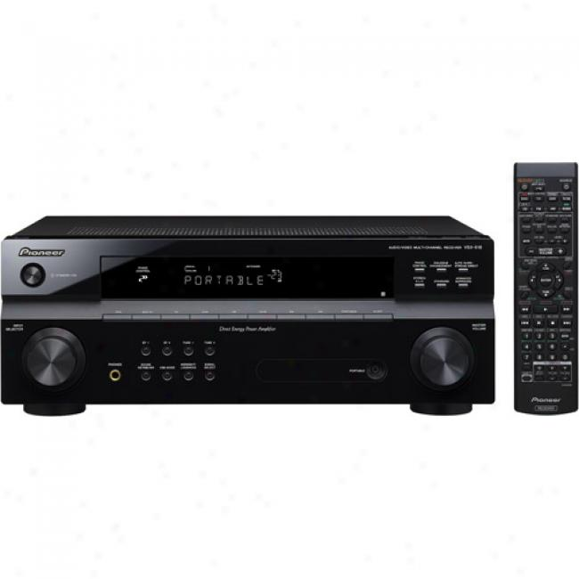 Pioneer 5-channel Surround Sound Receiver W/ 600 Watts, Vsx-518-k