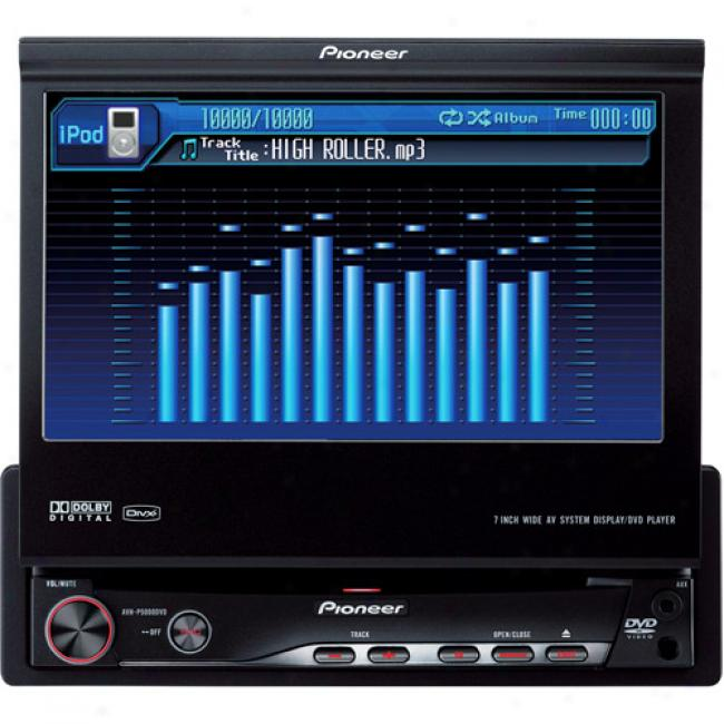 Pioneer In-dash Dvd Receiver W/ 7