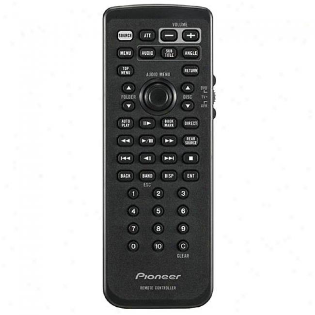 Pioneer Remote Control For Avh-p4900dvd