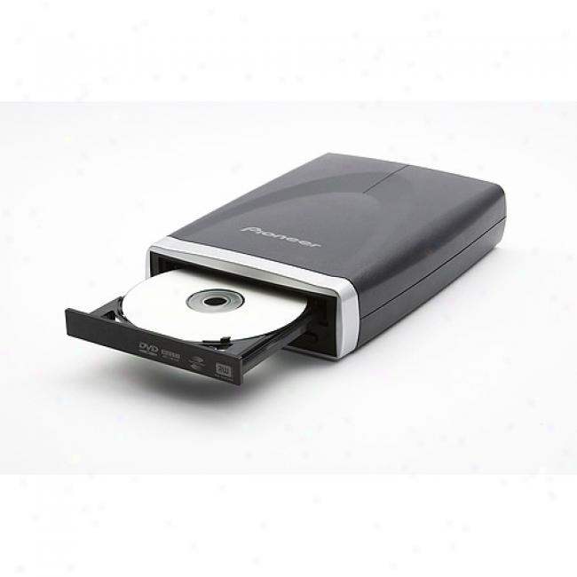 Pioneer Usb External Pata Dvd/cd Writer With Lightscribe