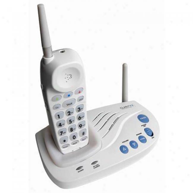 Plantronics Amplified Cordless Telephone With Bright Visual Ringer