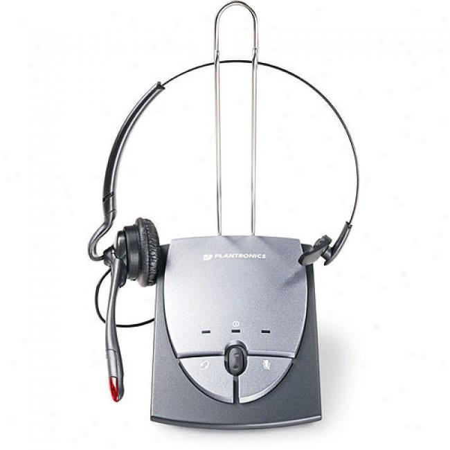 Plantronics Corded Amplifier With Convertible Headset