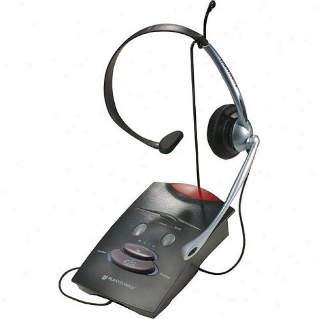 Plantronics Corded Amplifier With Headset