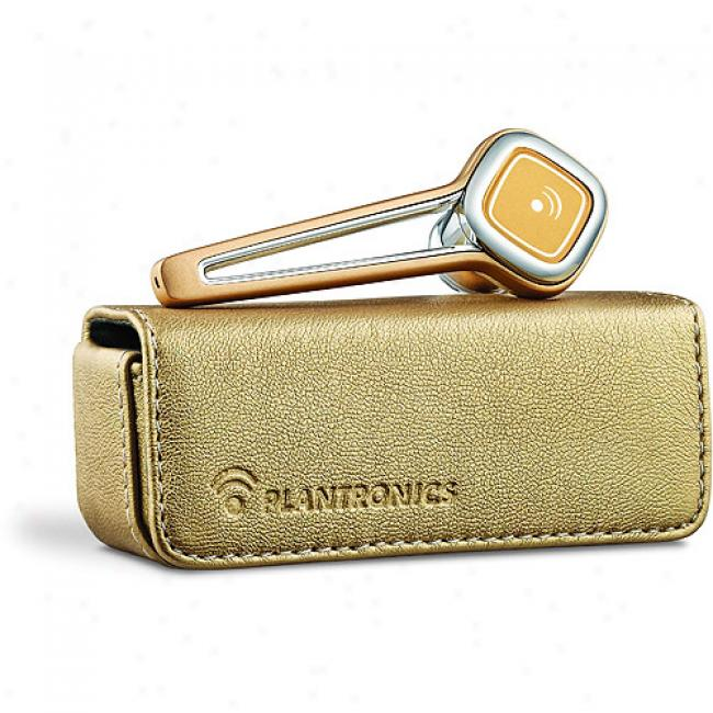 Plantronics Discogery 925 Bluetooth Headset, Gold