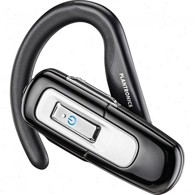 Plantronics Explorer 220 Bluetooth Headset W/ Omni-directional Microphone, Black