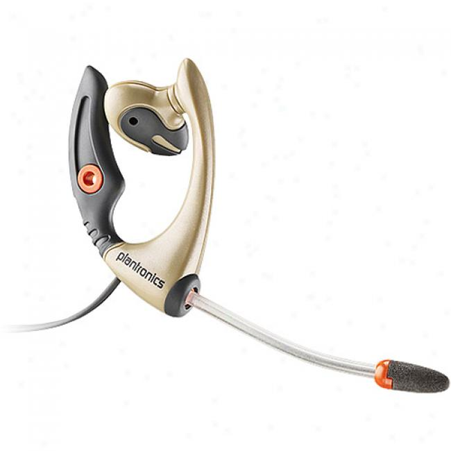 Plantronics Mx500c Mobile Headset W/ Windsmart Voice Tube