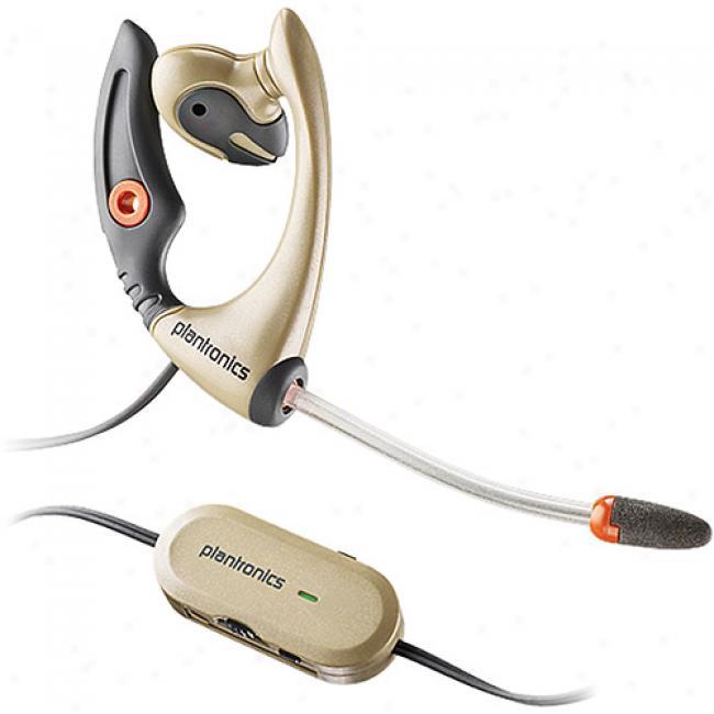 Plantronics Mx505 Mobile Headset W/ Windsmart Voice Tubes