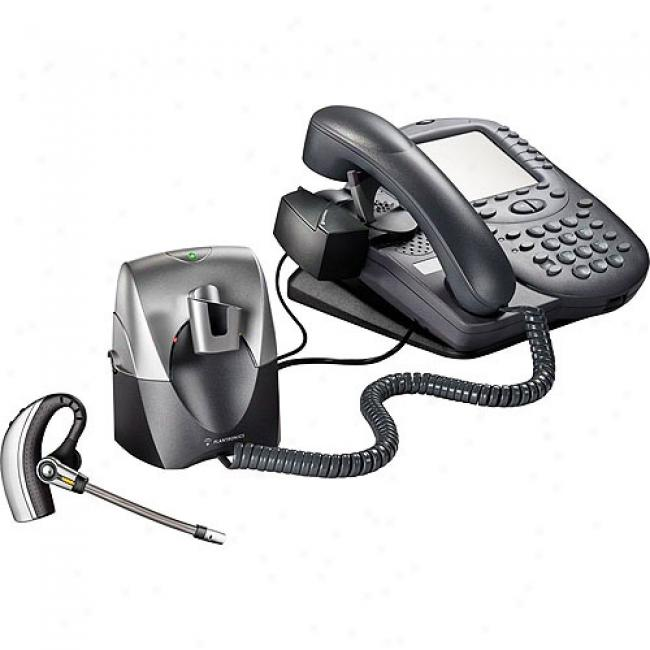 Plantronics Professional Wireless Office Headset System With Lifter