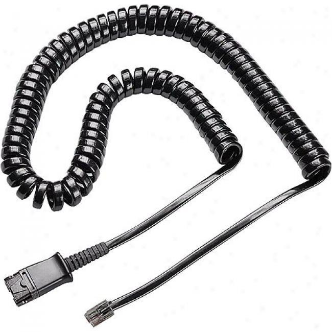 Plantronics Replacement Quick Disconnect Coil Cable