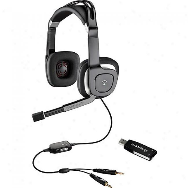 Plantronics Usb Multimedia Stereo Headset,without Dsp