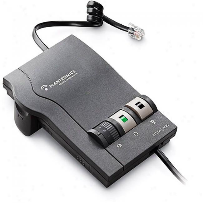 Plantronics Vista Amplifier With Clearline Audio Technology